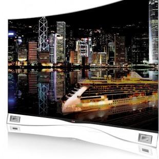 LG Curved OLED TV 55'': Κυρτή γιατί μπορούμε