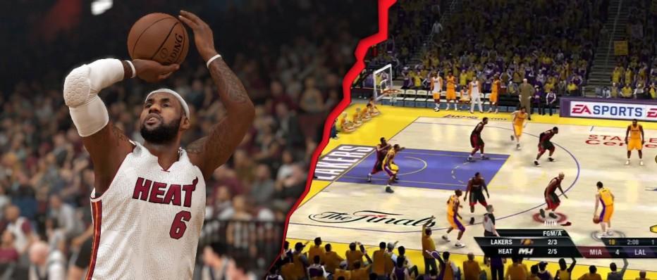 NBA 2K14 vs NBA Live 14 @PS4