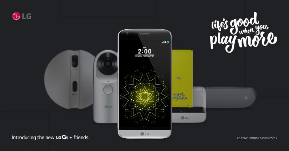 LG G5: Κατεβάζει παρέα…
