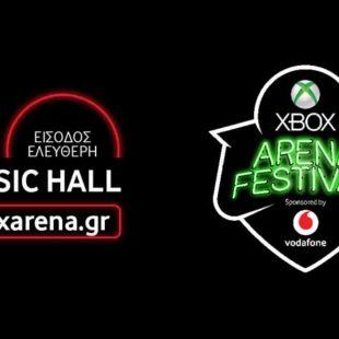 Η Vodafone platinum χορηγός στο Xbox Arena Festival