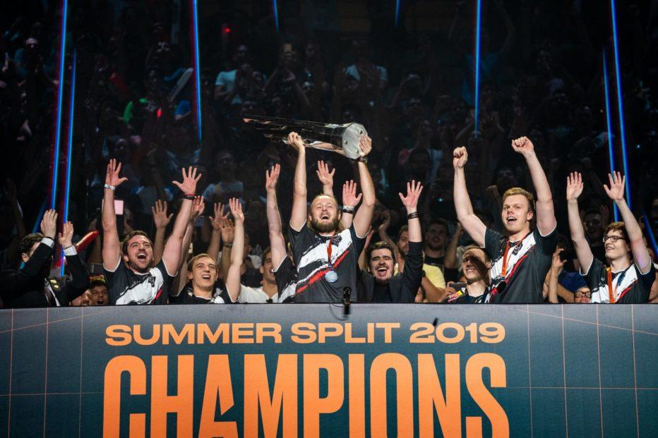 Οι G2 Esports Πρωταθλητές LEC Summer Split 2019